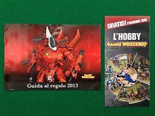 (R3) GAMES WORKSHOP CATALOGO 2013 Warhammer Hobbit , Brochure catalogue KATALOG