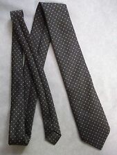Vintage TOOTAL Tie Mens Necktie Retro 1980s Fashion MILKY BROWN