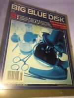 Vintage BIG BLUE DISK The Magazine on Disk for IBM PC No.8 Rare 1987