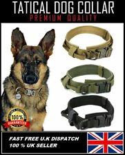MILITARY TATICAL DOG COLLAR HEAVY DUTY ADJUSTIBLE