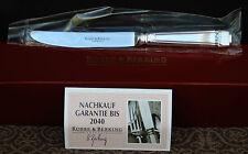 """Robbe & Berking """" Art Deco """" Kuchen - Obstmesser 150g Massiv versilbert  ! Neu !"""