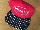 new PIONEER Stars & Stripe RED WHITE BLUE Hat Cap snapback trump USA Patriotic