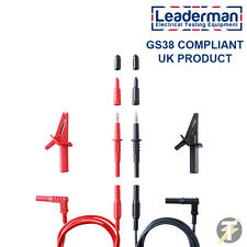 Leaderman LDM020 Multimeter Test Lead Set - Fluke-Megger-Kewtech-Metrel-Di-Log