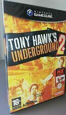Tony HAWK'S Underground 2 Game Cube Gamecube / Wii Eng Pal Eu Seltene Angebot