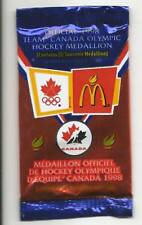 1997-98 McDonalds Team Canada Olympic Coin Unopened Pack Factory Sealed