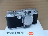 "Leitz Wetzlar - Leica IIIf BD Kit Elmar 1:3.5/5cm ""1a Sammlerstück"" - TOP!"