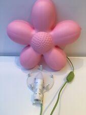 Ikea Smila Blomma Pink Flower Wall Light Lamp