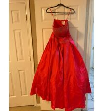 Tiffany Designs Size 8 Red Prom Formal Ball Gown Dress