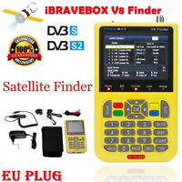 "3.5"" V8 SATlink Digital LCD Satellite Signal Finder Meter DVB-S DVB-S2 FTA SAT"