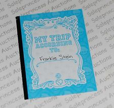 NEW Monster High Scaris Frankie Doll Diary Journal Booklet Replacement Loose