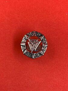 Stainless Steel Freemason Illuminati Silver Ring Masonic Three Pyramid Ring
