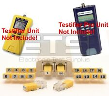 Test-Um TP350 TP655 TP314 Testifier Pro RJ11 Remote Identifier Mapper IDs 1-20