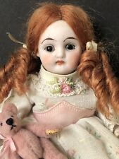 "Unidentified Kestner (?) Antique German 6"" Mignonette Bisque Doll Marked 5934"