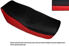 BRIGHT RED & BLACK CUSTOM FITS KAWASAKI Z 550 F 81-85 DUAL SEAT COVER