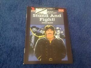 Stand And Fight! By Johnny Nelson Cleveland Western #154 Book