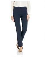 Lark and Ro Women's Slim leg dress pant; Curvy Fit Size 14 Retail Price $40