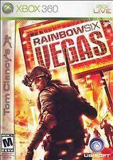 Microsoft XBox 360 Game Disc TOM CLANCY'S RAINBOW SIX VEGAS