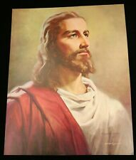 X Large JESUS Christ LITHOGRAPH Bianchi 20x16 YESHUA Unframed FAMOUS Poster NOS!