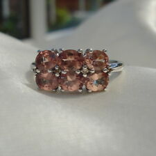 2.55ct Certified Natural Colour Change Garnet & Diamond White Gold Ring