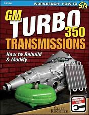 GM TURBO 350 TRANSMISSIONS - RUGGLES, CLIFF - NEW PAPERBACK BOOK
