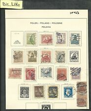 Bis_Like:many stamps Poland used Lot Jan03-423
