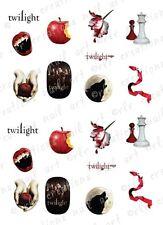 20 Twilight Water Slide Nail Decals 10 Asst. Designs Twilight Saga Nail Decals