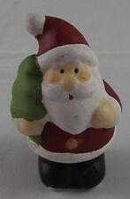 Figur Santa Weihnachtsmann Nikolaus m. Baum Weihnachten Deko Dekoration 2016 Neu