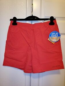 NWT Columbia Boys Backcast Omni-shade UPF 50 Shorts XL Red NEW Swim Beach