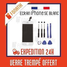 ECRAN LCD POUR IPHONE SE BLANC + VITRE TACTILE MONTES SUR CHASSIS + KIT OUTILS