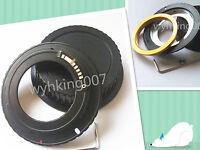 Adjustable EMF AF Confirm M42 Lens to Canon EOS EF Lens Adapter 600d 1200d 550d