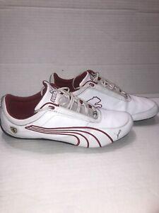 Puma Shoes Drift Cat IV 4 SF CR Ferrrari White/Red Sneakers Size 13