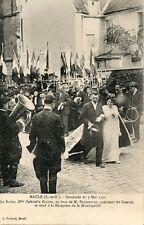 CARTE POSTALE / MAULE CAVALCADE DU 7 MAI 1911 RECEPTION MINICIPALE