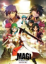 Magi Group Wall Scroll Anime Manga Cloth Poster NEW