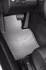 2 BMW Gray Rubber Floor Mats E46 323 325 328 330 4891
