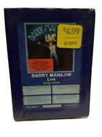 Barry Manilow Live Double Album 8 Track Tape Arista 1977 New old stock Sealed