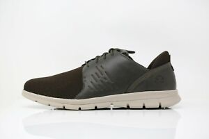 Timberland GRAYDON OXFORD Dark Brown Men Shoes Trainers Size UK 7.5 EUR 41.5