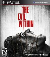 NEW The Evil Within (Sony Playstation 3, 2014)