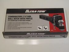 Ultra-Tow Combination 2 5/16 Inch Ball Hitch With Pintle 5 Ton Capacity 23262