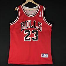 NEU Champion Michael Jordan Chicago Bulls NBA Trikot Air Basketball Jersey XL 48