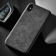 iPhone Alcantara Suede Plain Phone case cover in ALL MODELS -FREE EU POST-