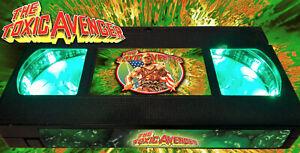 Toxic Avenger - Retro VHS Lamp +Remote Control - Comedy Movie