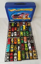 Hot Wheels mixes lot of 48 Cars die-cast with Blue Tara Case