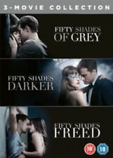 Fifty Shades of Grey Darker Freed 3 Movie Collection 50 Three Region 4 DVD