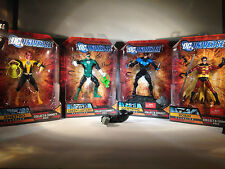 Lot #  24 -DC Universe, Direct Figures Solomon Grundy Lot, Robin, Nightwing