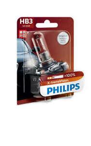 Philips 9005XVB1 - X-treme Vision +100 HB3 Globe 12V 65W fits Mitsubishi Lanc...