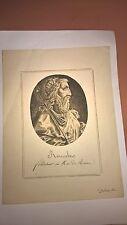 Antique Vintage Engraving of Romulus 18th/19th Century
