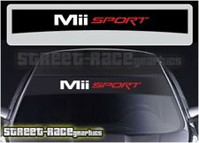SS2208 Seat Mii Sport car sunstrip graphics stickers decals windscreen sun-visor