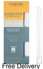 FlosLek Anti Acne Skin Concealer Antibacterial Cover Stick2 Natural Paraben Free