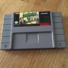 Zombies Ate My Neighbors Super Nintendo Snes Cart Only Tested Works NG5