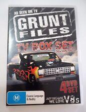 Grunt Files TV Box Set Season 2 DVD 4 Disks V8's Cars GC Rated M